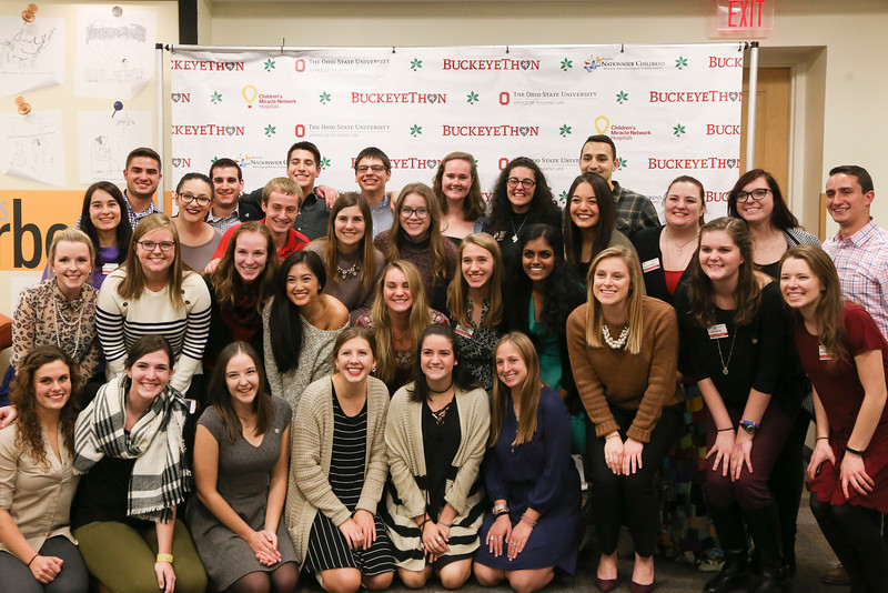 BuckeyeThon New Member Inductions