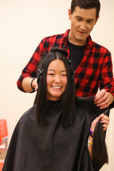 2018 BuckeyeThon Haircuts for Donations