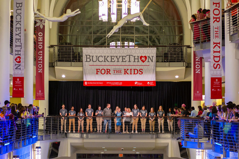 2019 BuckeyeThon Dance Marathon closing ceremonies at the Ohio State University (Katherine Seghers - Ohio State University Office of Student Life)