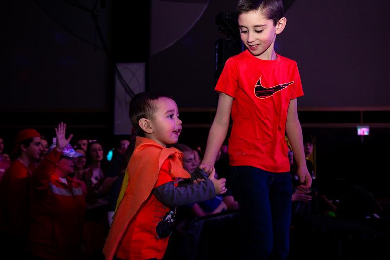 2019 BuckeyeThon Drumline Kid Dance Morale Dance