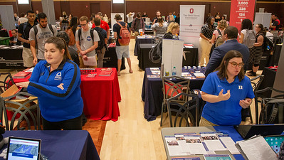 Grad Expo September 10, 2019 (Jim Bowling - The Ohio State University Office of Student Life)