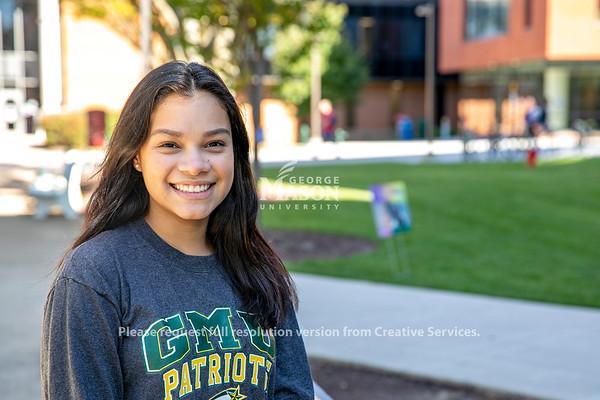 Hispanic/Latinx leaders in the Mason Community. Photo by: Shelby Burgess/Strategic Communications/George Mason University