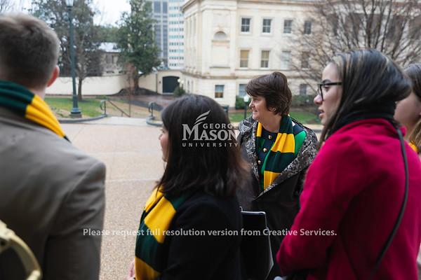 Mason Lobbies, Governor's Mansion, President Anne Holton, SGA, student government