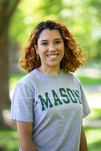 2021-2022 Student Body Vice President Veronica Mata. Photo by: Shelby Burgess/Strategic Communications/George Mason University