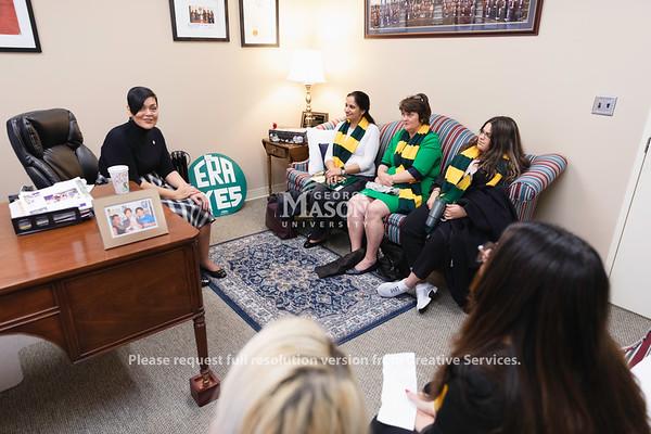 Mason Lobbies, Delegate Hala Ayala, Richmond, student government, SGA