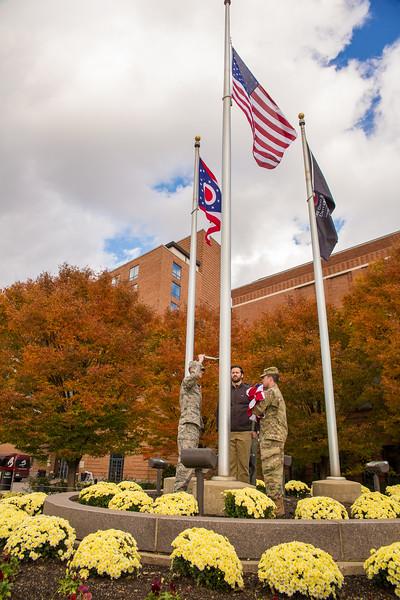 2018  Inaugural Campus Flag Event
