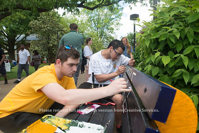 Bench Painting Party