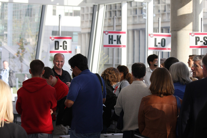 2008 PFW Registration and Receptions