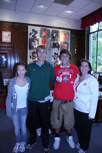 2010 PFW Employee Reception with President Gee