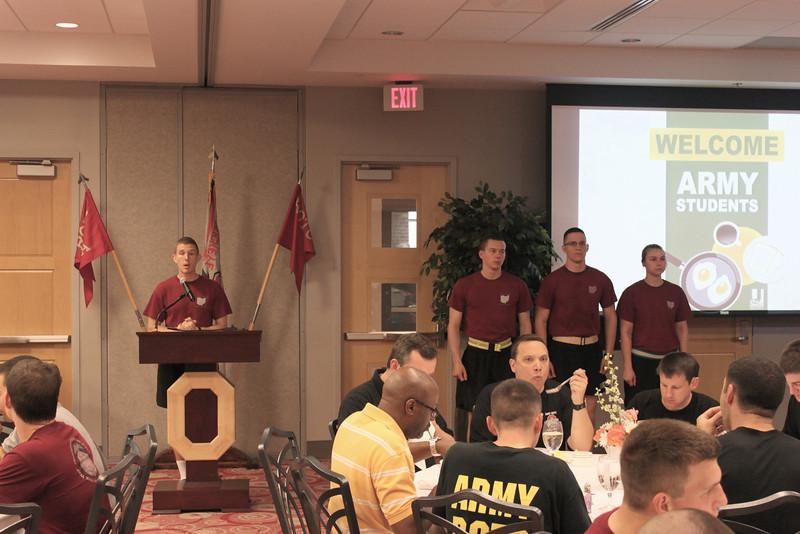 2012 Military Appreciation Breakfast