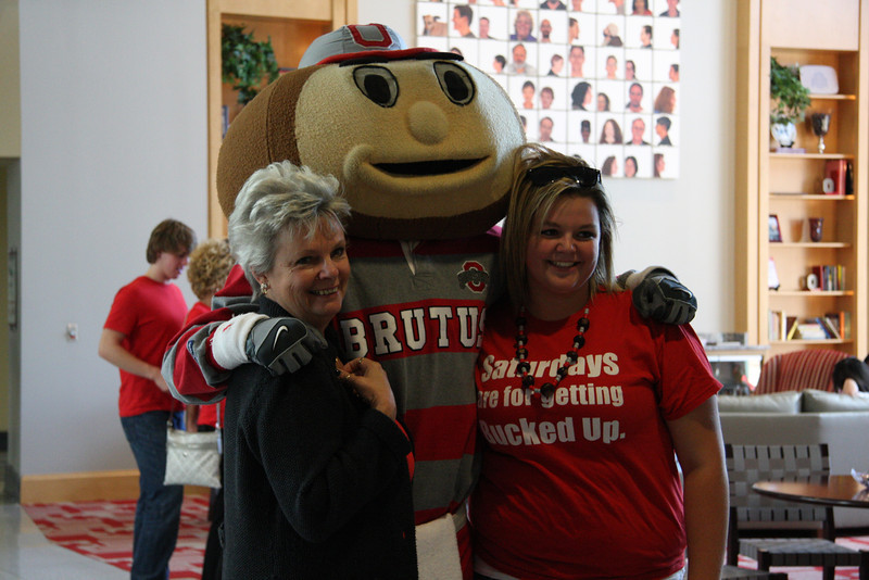 2011 PFW Photos with Brutus and Bronze Brutus