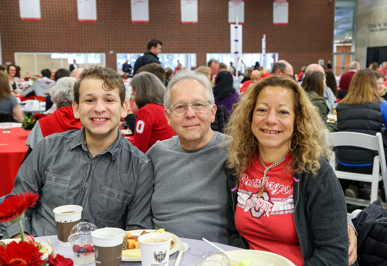 Parent and Family Weekend Breakfast with Sr. VP of Student Life