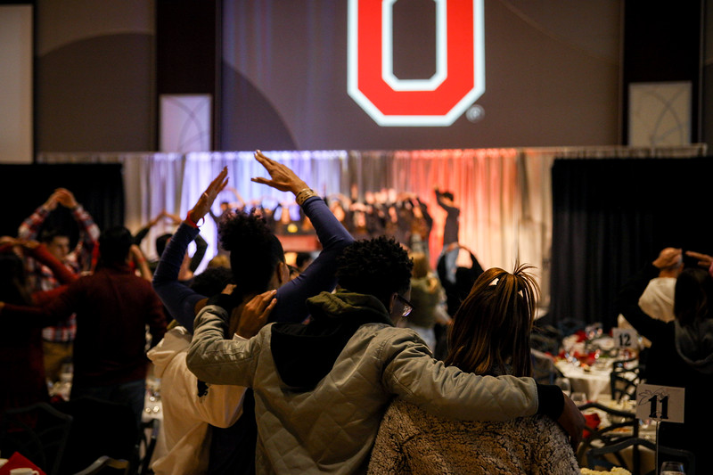 Parents and families of the Ohio State community participate in events and activities during the annual parent and family weekend at OSU. Photos by Joseph Thompson (Ohio State Office of Student Life)