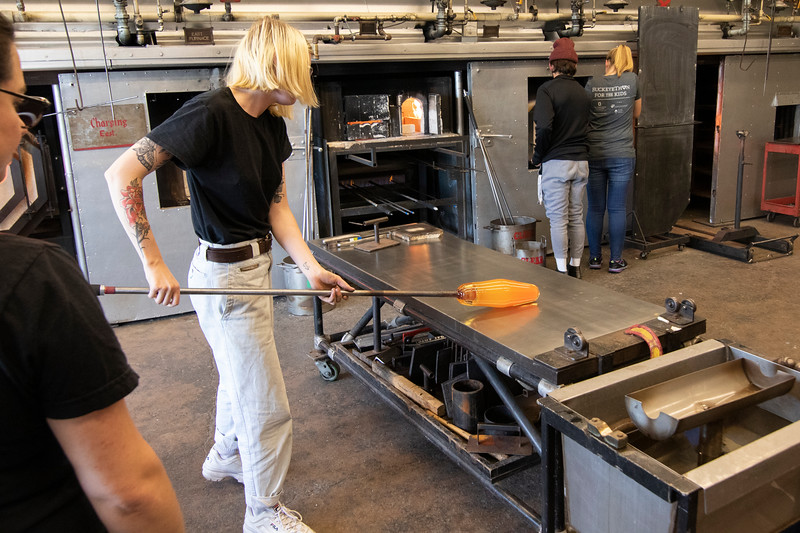 2019 PFW Glass Blowing Demo