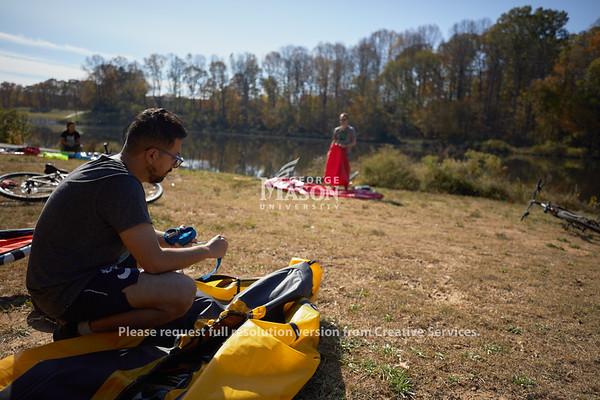 Mason Graduate Bike and Paddle, Photo By Ian Shiff/Creative Services/George Mason University