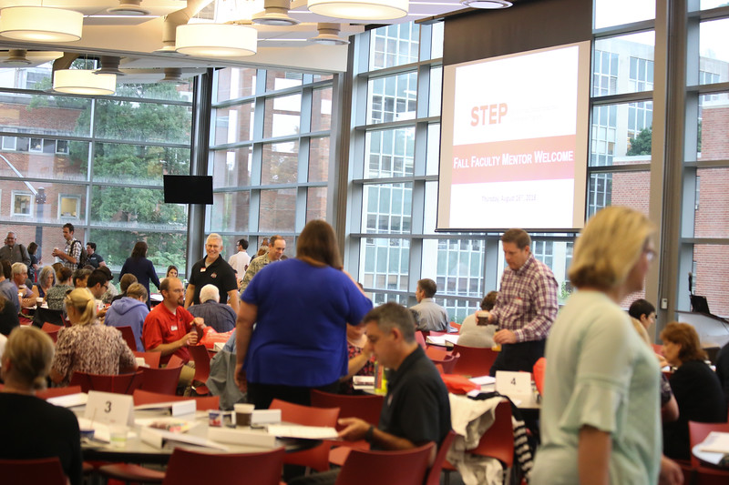 2018 STEP Faculty Mentor Fall Welcome