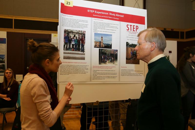 2016 Spring STEP student presentations