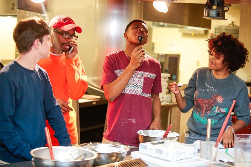 Social Change Mentor-A-Buckeye Cooking Class