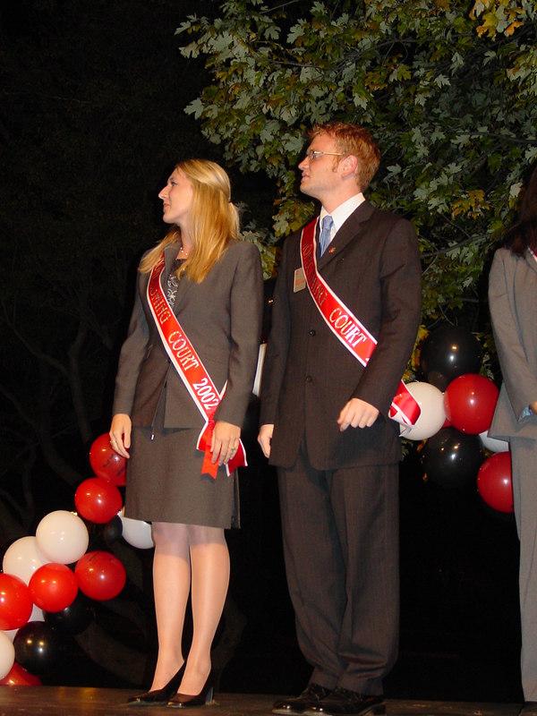 2002 Homecoming Pep Rally