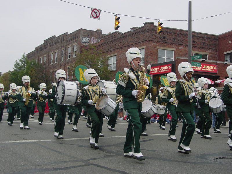 2002 Homecoming Parade
