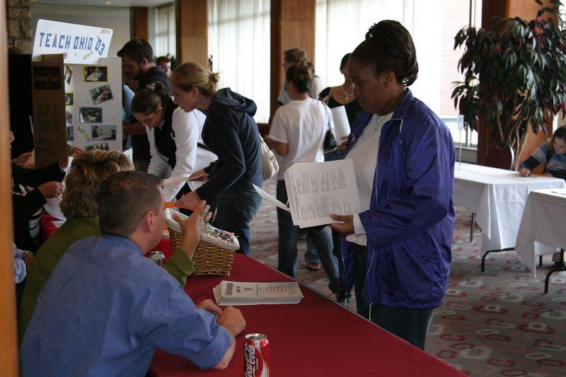 2003 Welcome Week Job Fair