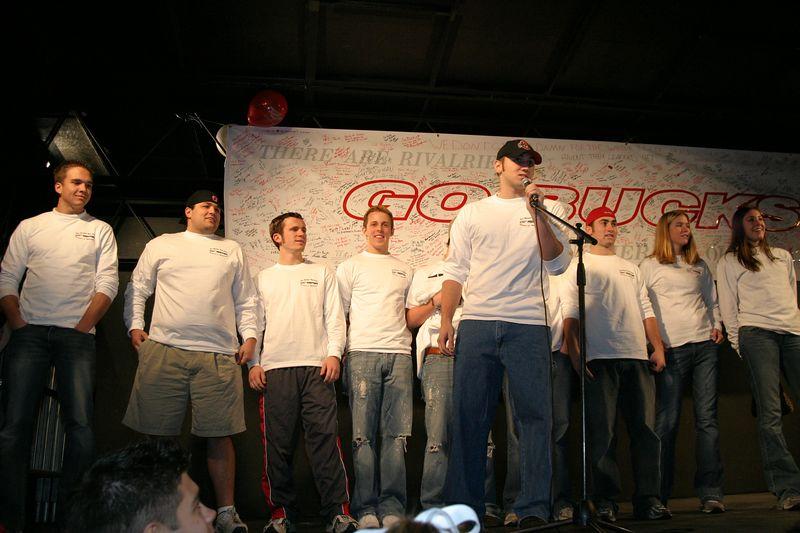 2003 Beat Michigan Pep Rally