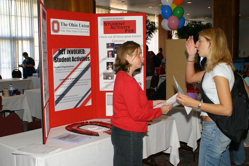 2004 Welcome Week Job Fair
