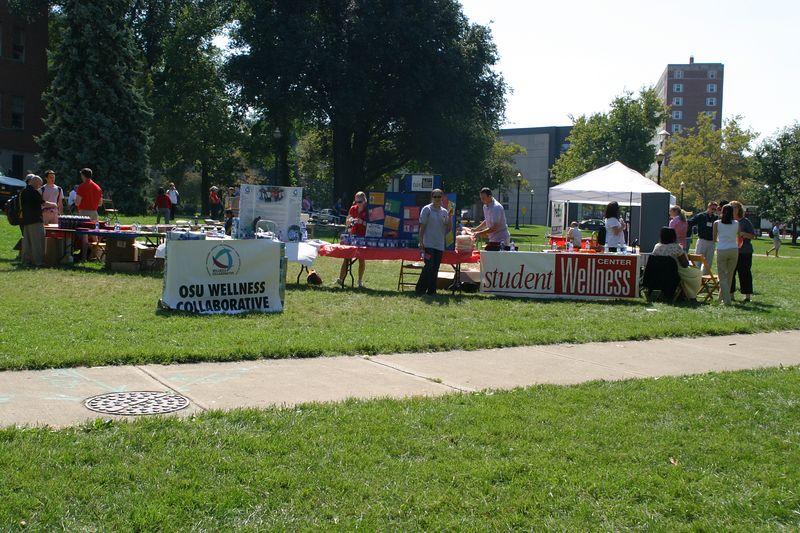 2004 Welcome Week Wellness Fair