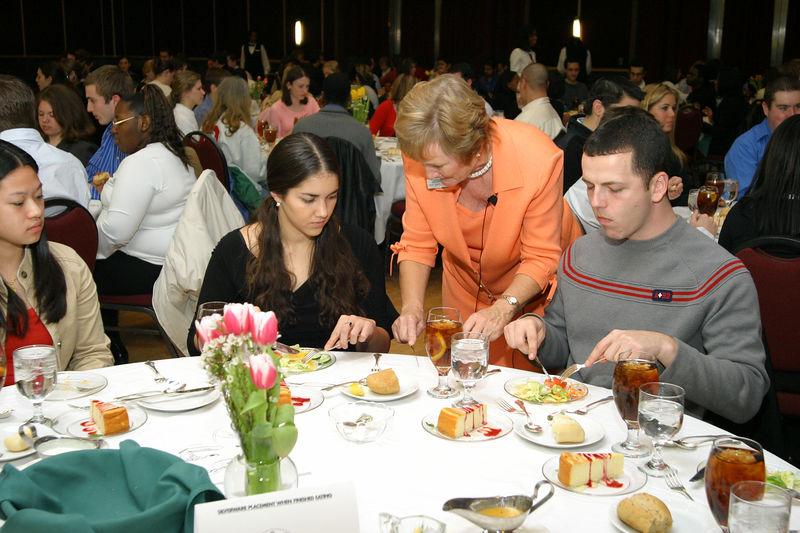 2005 Etiquette Dinner