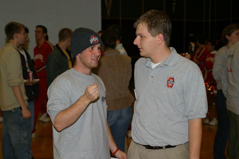 2004 Beat Michigan Pep Rally