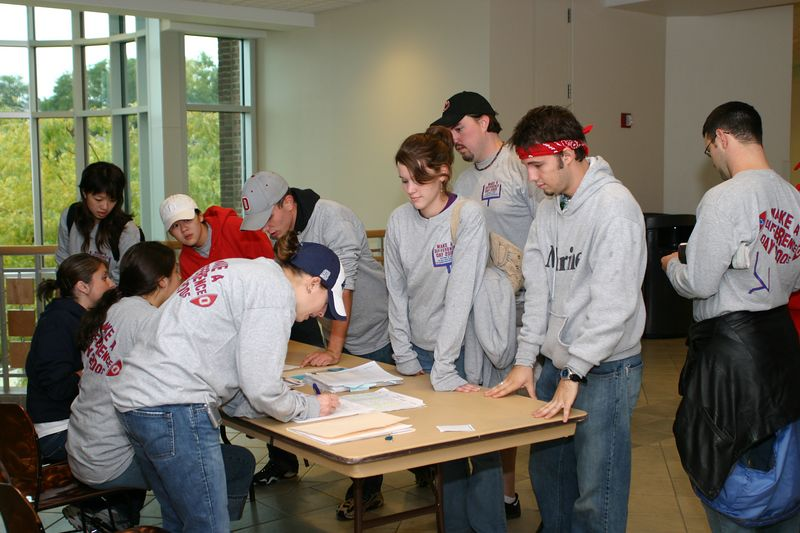 2005 Make a Difference Day at Penn State