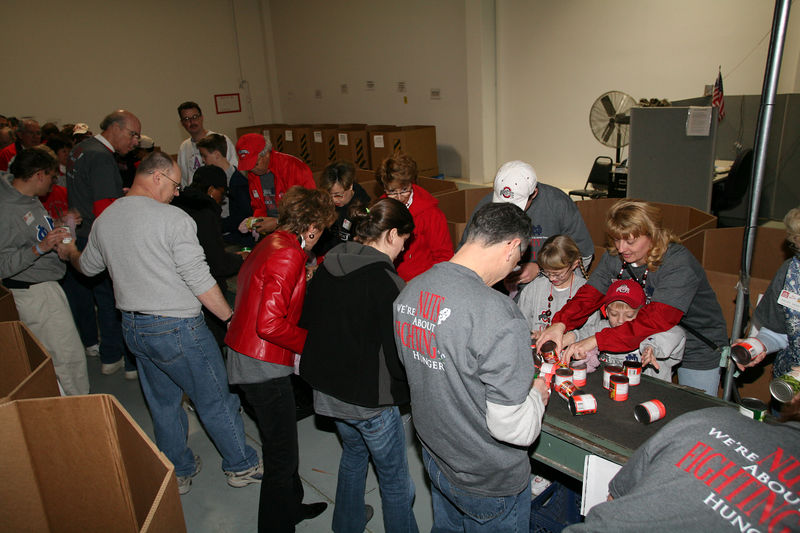 2005 Fiesta Bowl Community Service Project