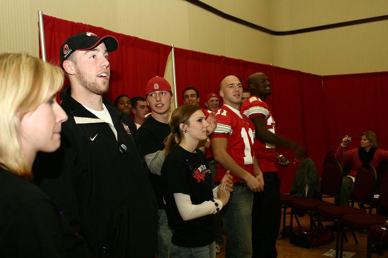 2005 Beat Michigan Week Pep Rally