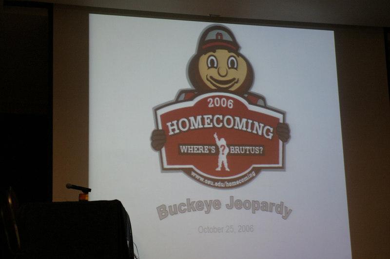 2006 Homecoming Buckeye Jeopardy