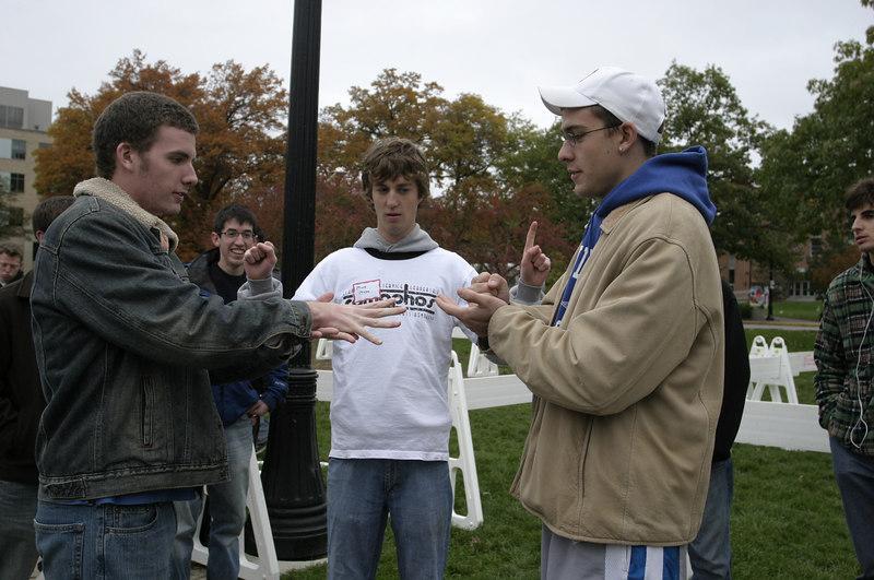 2006 Homecoming Rock-Paper-Scissors Tournament