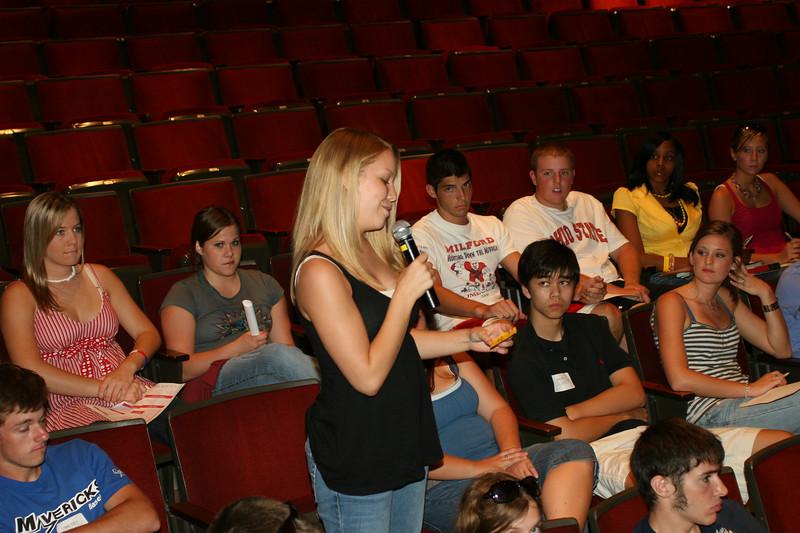 2007 Get Involved Orientation Session