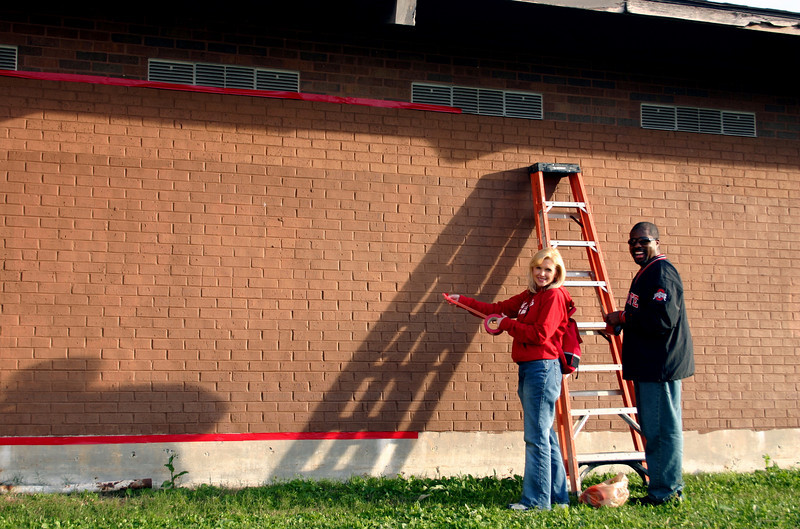 2008 Ohio State and LSU Service Project