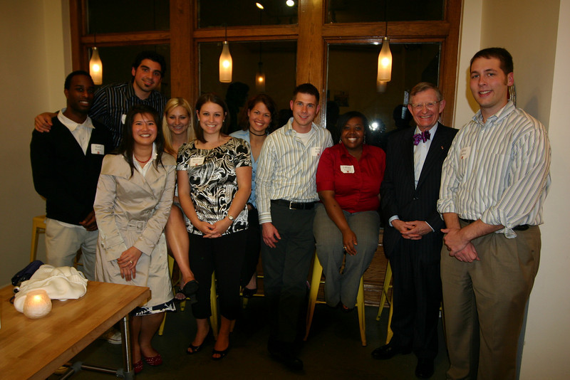 2008 President's Progressive Dinner with Graduate Students