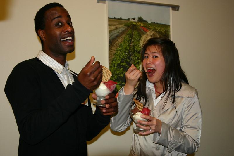2008 President's Progressive Dinner with Graduate Students