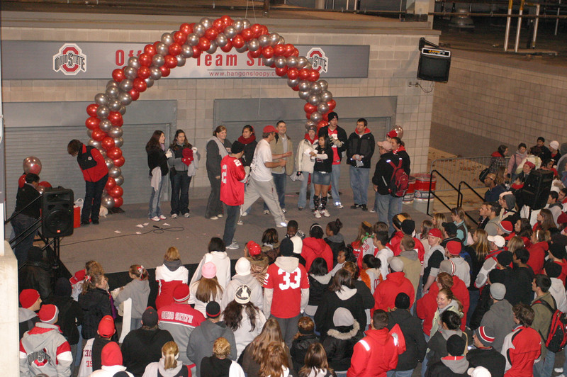 2007 Beat Michigan Rally Around Scarlet and Gray