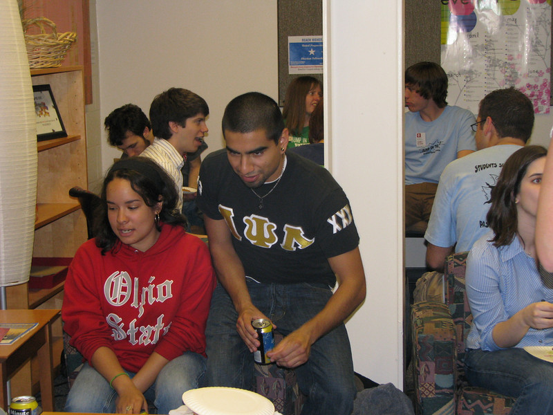 2008 Student Org Office Olympics with President Gee