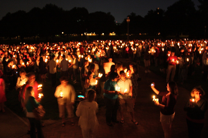 2009 Spring Candlelight Ceremony