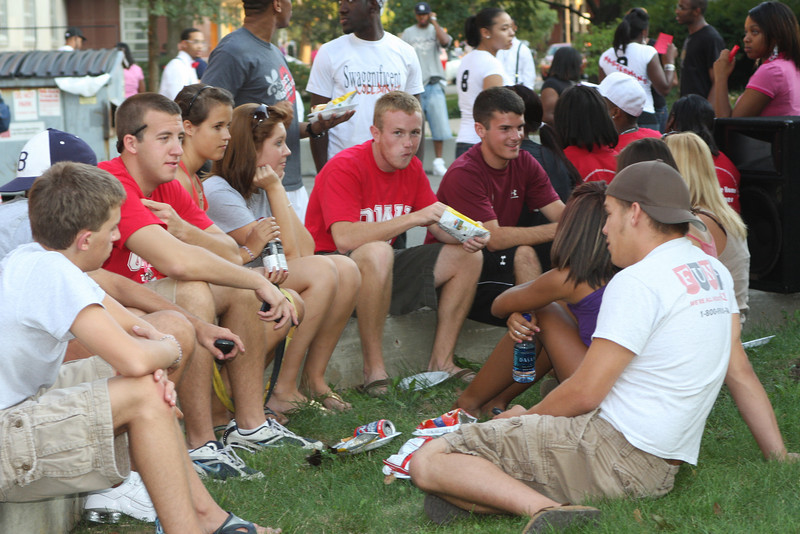 2008 Welcome Back BBQ at the Hale Center