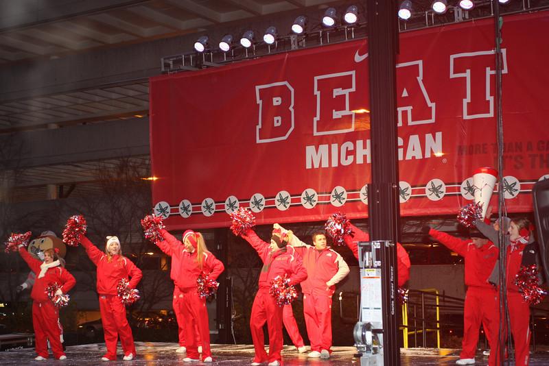2008 Beat Michigan Pep Rally