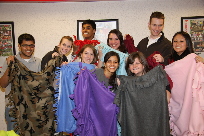 2009 SERV Team Blanket Project
