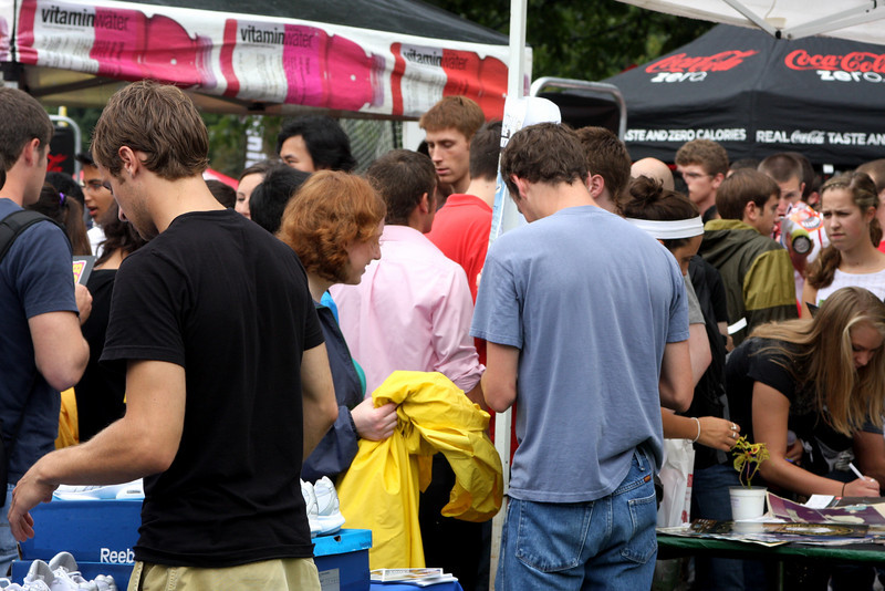 2009 Autumn Student Involvement Fair