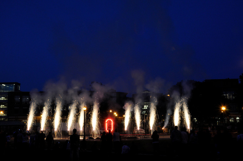 2010 Best day of your life - Fire works on South Oval
