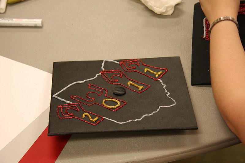 2011 Commencement Week Cap Decoration