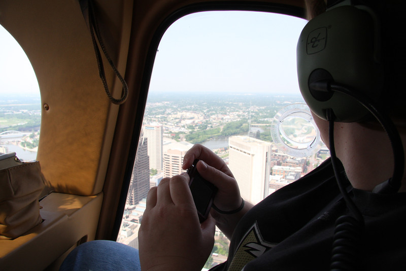 2011 Commencement Week Helicopter Tours