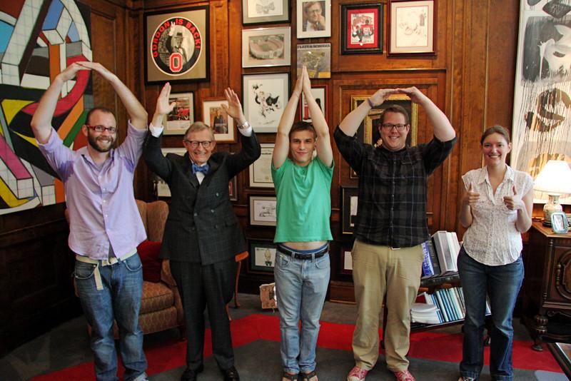 Tour of President's Office